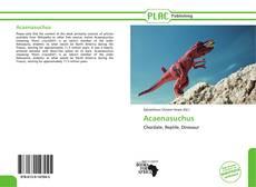 Couverture de Acaenasuchus