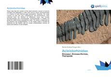 Couverture de Acleistorhinidae