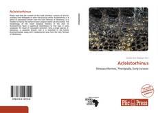 Couverture de Acleistorhinus