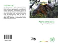 Couverture de Adamantinasuchus