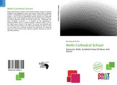 Bookcover of Wells Cathedral School