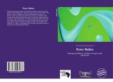 Обложка Peter Baltes