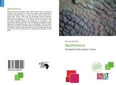 Bookcover of Apatomerus
