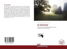 Portada del libro de Ar (Einheit)