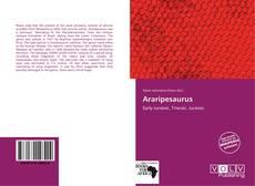 Capa do livro de Araripesaurus