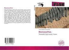 Copertina di Baurusuchus