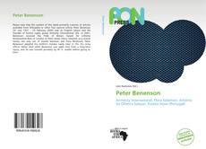 Обложка Peter Benenson