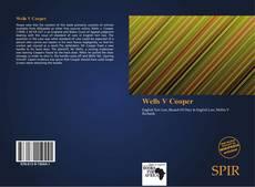 Bookcover of Wells V Cooper