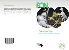 Carnotaurinae的封面