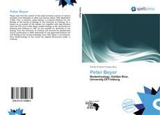 Peter Beyer的封面