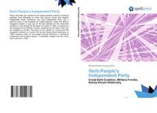Buchcover von Serb People's Independent Party