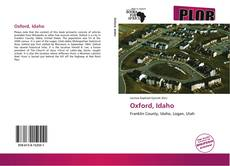 Bookcover of Oxford, Idaho