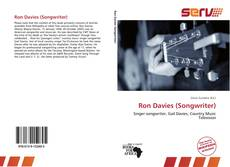 Bookcover of Ron Davies (Songwriter)
