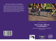 Ron Cooper (Bicycle Framebuilder)的封面