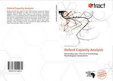 Обложка Oxford Capacity Analysis