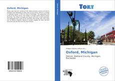 Portada del libro de Oxford, Michigan