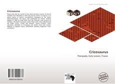 Обложка Cricosaurus