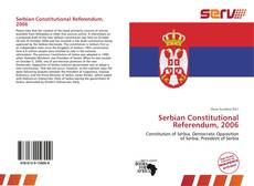 Capa do livro de Serbian Constitutional Referendum, 2006