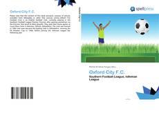 Buchcover von Oxford City F.C.