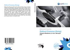 Bookcover of Oxford Comma (Song)