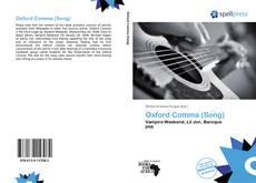 Capa do livro de Oxford Comma (Song)