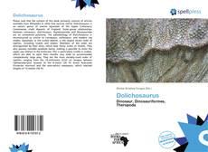 Dolichosaurus的封面