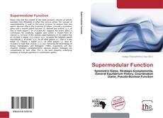 Bookcover of Supermodular Function