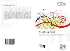 Bookcover of Visiting Card