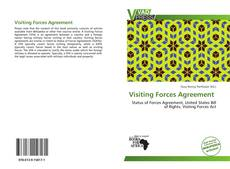 Bookcover of Visiting Forces Agreement