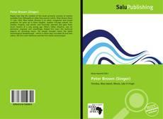 Buchcover von Peter Brown (Singer)