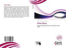 Bookcover of Peter Bosz