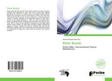 Copertina di Peter Brook
