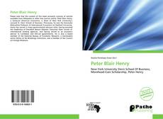 Bookcover of Peter Blair Henry
