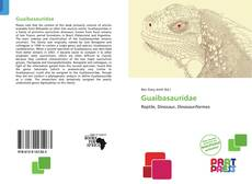 Bookcover of Guaibasauridae