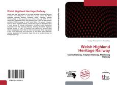 Capa do livro de Welsh Highland Heritage Railway