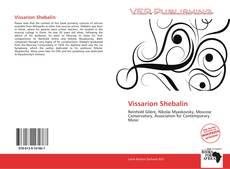Bookcover of Vissarion Shebalin
