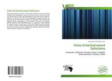 Buchcover von Vista Entertainment Solutions