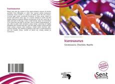 Icarosaurus kitap kapağı