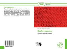 Capa do livro de Kuehneosaurus