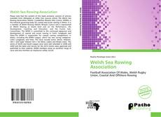 Capa do livro de Welsh Sea Rowing Association