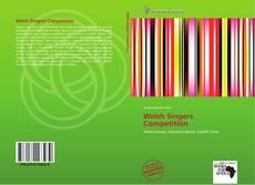 Capa do livro de Welsh Singers Competition
