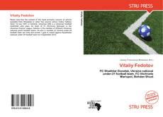 Vitaliy Fedotov kitap kapağı
