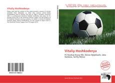 Couverture de Vitaliy Hoshkoderya