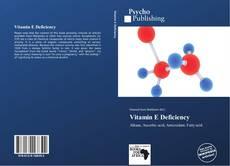 Bookcover of Vitamin E Deficiency
