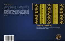 Bookcover of Viterbo University