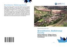Buchcover von Bronisławów, Białobrzegi County