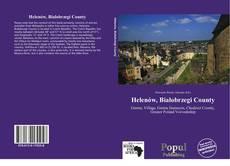 Capa do livro de Helenów, Białobrzegi County