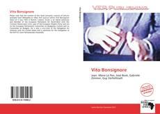 Portada del libro de Vito Bonsignore