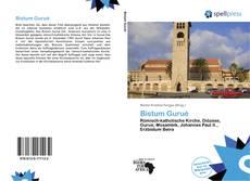 Portada del libro de Bistum Gurué