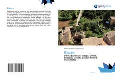 Buchcover von Bacze
